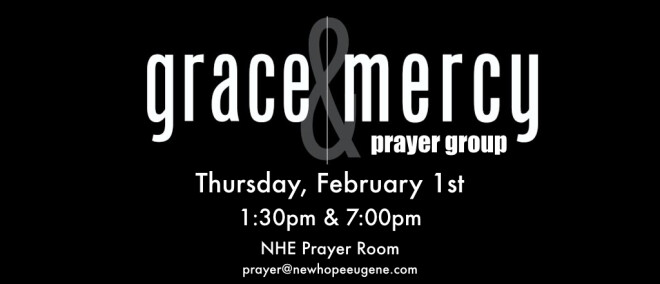Grace & Mercy Prayer Group (1:30pm)