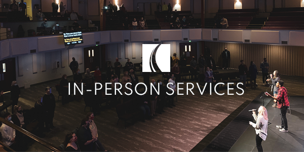 In-Person Weekend Services